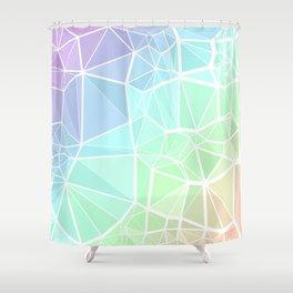 Rainbow Triangles Shower Curtain