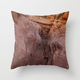 Little_Wild_Horse Canyon 0002 - Utah Throw Pillow