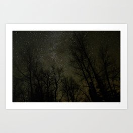 Central Oregon Sky Art Print