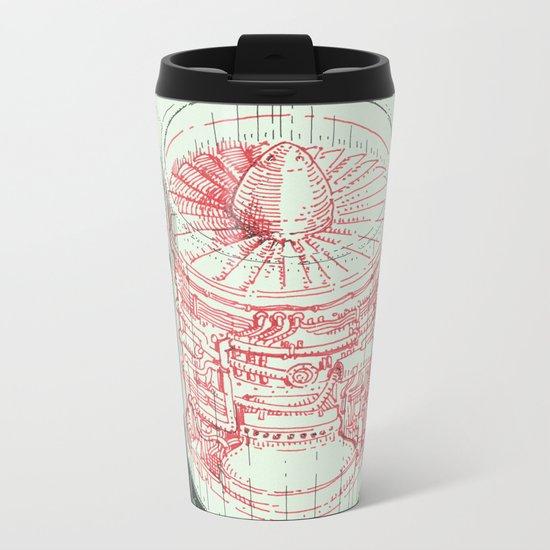 Coffee Jet Metal Travel Mug