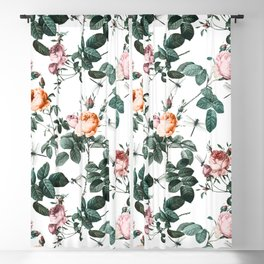 Floral and Winged Darter Blackout Curtain