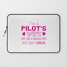 Pilot's Wife Laptop Sleeve