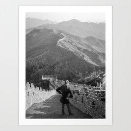 Great Wall - China Art Print