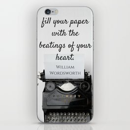 Wordsworth Quote iPhone Skin