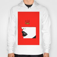 lip Hoodies featuring Lip King by Keith Cameron