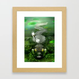 Swamp Framed Art Print