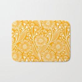 Saffron Coneflowers Bath Mat