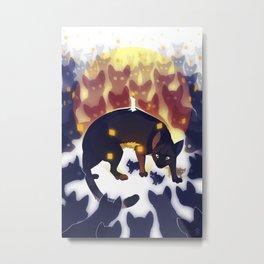 lifeline Metal Print