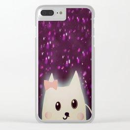 cat-64 Clear iPhone Case