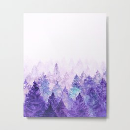 Fade Away Ultra Violet Metal Print