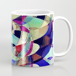 One With Many Faces Coffee Mug