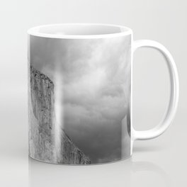 Yosemite National Park, El Capitan, Black and White Photography, Outdoors, Landscape, National Parks Coffee Mug