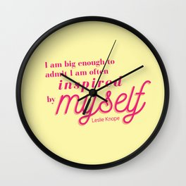Inspired by myself Wall Clock