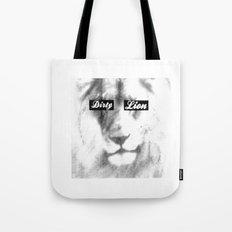 Dirty Lion Tote Bag