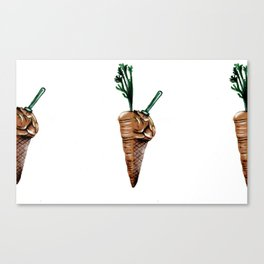 Perfect Halves Two Canvas Print