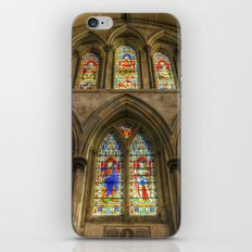 Rochester Cathedral Stained Glass Windows iPhone & iPod Skin