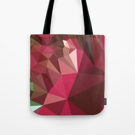 Jazzberry Jam Purple Abstract Low Polygon Background Tote Bag