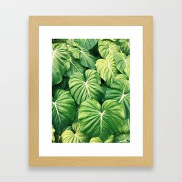 Un-be-leaf-able Framed Art Print