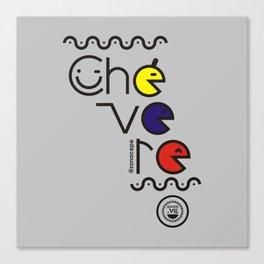 ¡Chévere Tricolor! Canvas Print