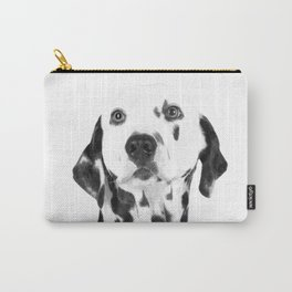 Black and White Dalmatian Carry-All Pouch