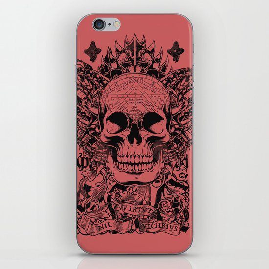 Cobra skull iPhone & iPod Skin