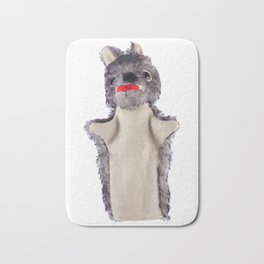 Big bad wolf Bath Mat