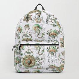 Ernst Haeckel - Trachomedusae (Jellyfish) Backpack