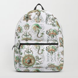 Ernst Haeckel - Trachomedusae (Jellyfish) Backpack