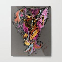 Party Bird Metal Print