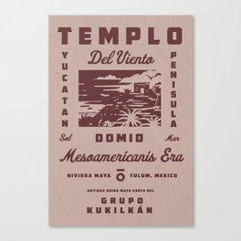 Templo Del Viento Canvas Print