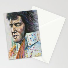 The King - Elvis Presley Stationery Cards
