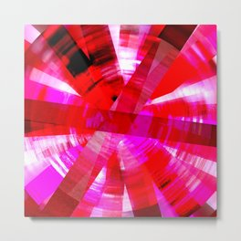 Pink Addict Metal Print