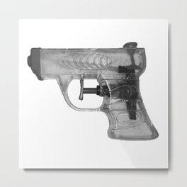 Lysn Pistol Metal Print