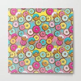 Donut Shop Metal Print