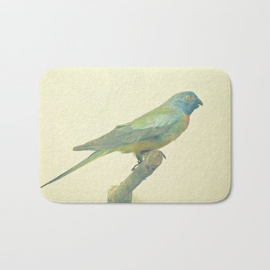 Bird Study #3 Bath Mat