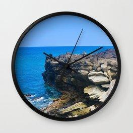 Hawaiian Waterscape Wall Clock