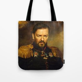 Ricky Gervais - replaceface Tote Bag