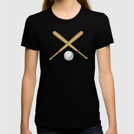 Baseball Bat and Ball T-shirt