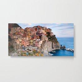 Italy Village Metal Print