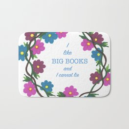 I LIKE BIG BOOKS Bath Mat
