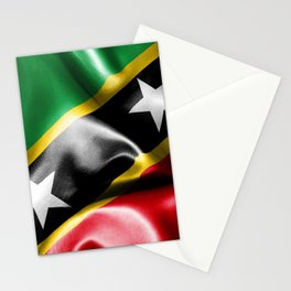 Saint Kitts and Nevis Flag Stationery Cards