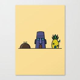 Spongebob's House Canvas Print