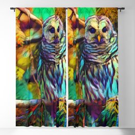 Barred Owl - As Deep as Forever Blackout Curtain