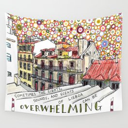 overwhelming Wall Tapestry