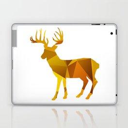 Deer - Gold Geomatric Laptop & iPad Skin