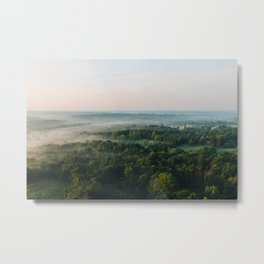 Kentucky from the Air Metal Print