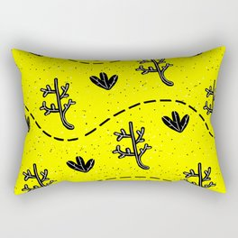 ACID DESERT - cmYk Rectangular Pillow