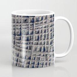 Sawn in Blue Granite Wall Coffee Mug