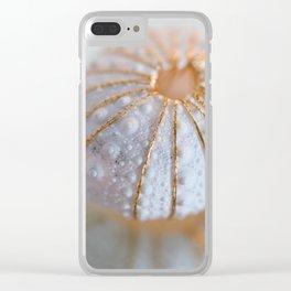 Sea Urchin Shell Clear iPhone Case