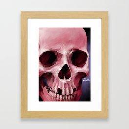 Skull 8 Framed Art Print